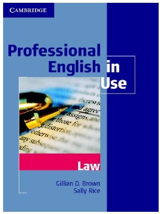 Professional Legal English